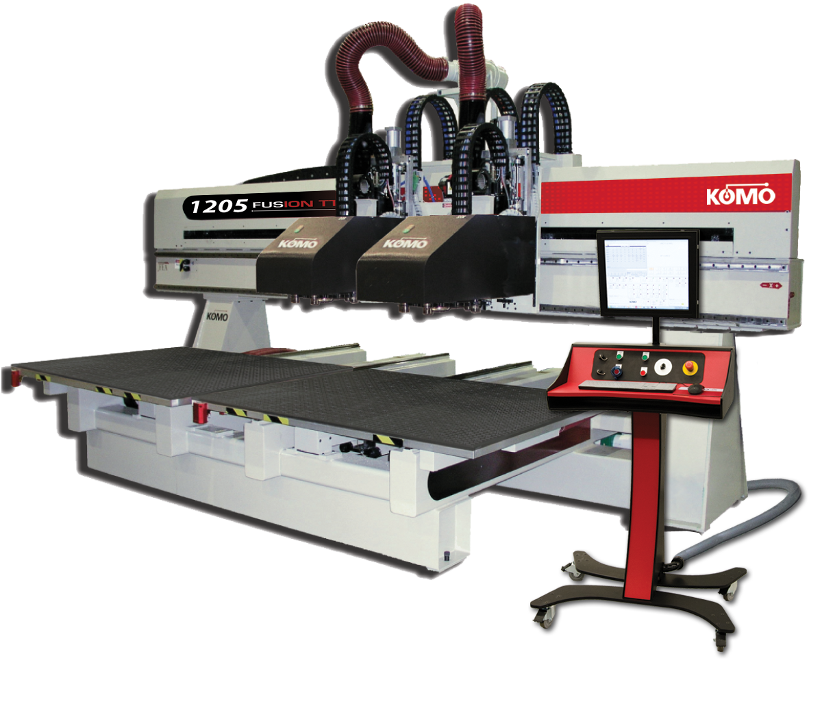 Fusion Twin Table Series CNC Machining Center