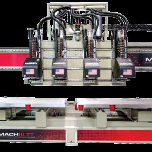 Mach III Twin Table CNC Machining Center from KOMO Machine, Inc.