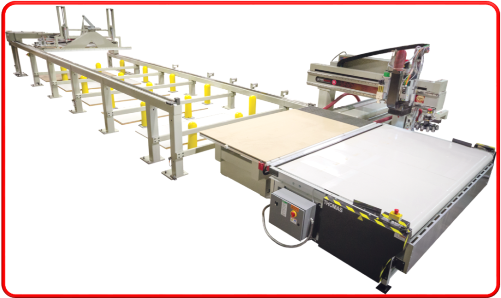 Automatic Material Management System