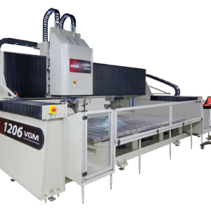 VGM CNC Machine for cutting ferrous and non-ferrous metal. Made by KOMO Machine, Inc.