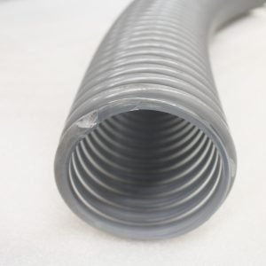 "vacuum hose 4"" ID in grey from KOMO Machine, Inc."