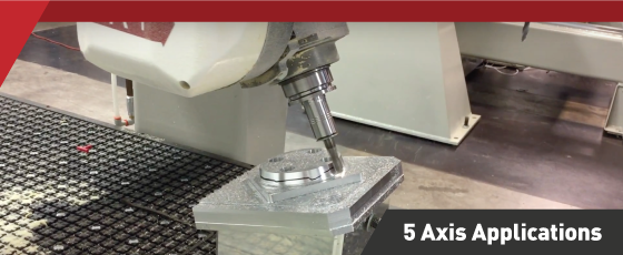 5 axis machining centers from KOMO